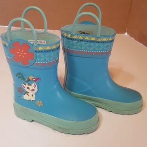 Disney store rain boots good used condition